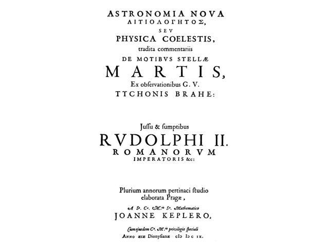 Astronomia Nova 1609 Ntitle Page Of The First Edition Of Johannes KeplerS Astronomia Nova 1609 In Which Kepler Set Forth His First Two Laws Of Planetary Motion Poster Print by  (18 x 24)