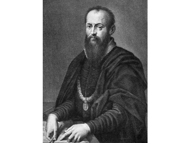 Giorgio Vasari (1511-1574) Nitalian Painter Architect And Art Historian Line Engraving After A Self-Portrait Poster Print by  (18 x 24)