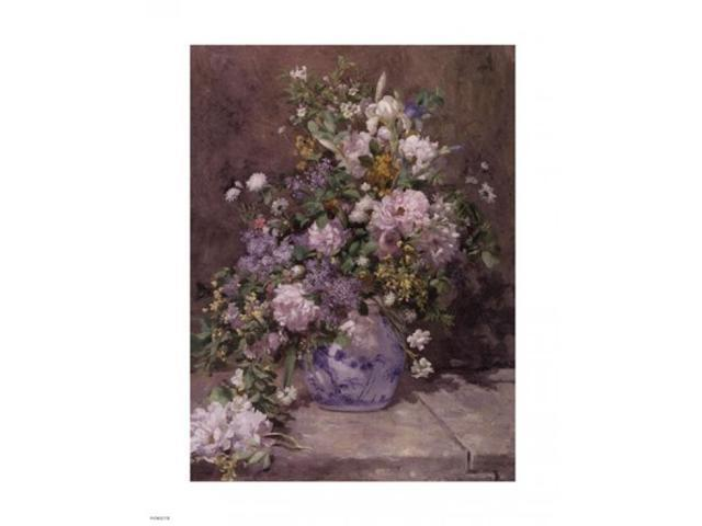 Spring Bouquet 1866 Poster Print by Pierre-Auguste Renoir (11 x 14)