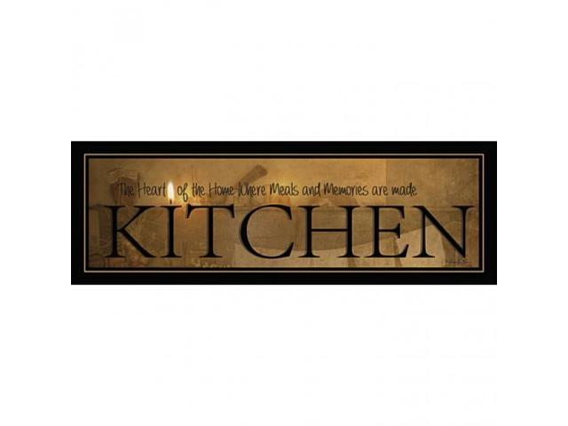 Kitchen Poster Print by Robin-Lee Vieira (18 x 6)