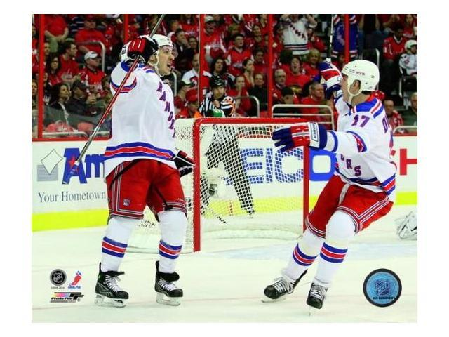 Brandon Dubinsky &  Ryan Callahan 2008-09 Action Photo Print (8 x 10)