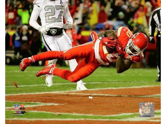 Tyreek Hill 2016 Action Photo Print (8 x 10)