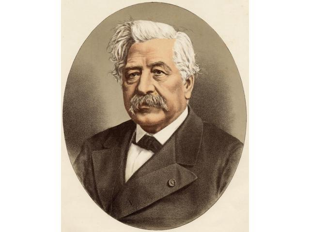 Ferdinand-Marie De Lesseps Vicomte 1805-1894 French Diplomat Famous For Building The Suez CanalFrom A Photograph By Monsieur Nadar Poster Print (13 x 16)