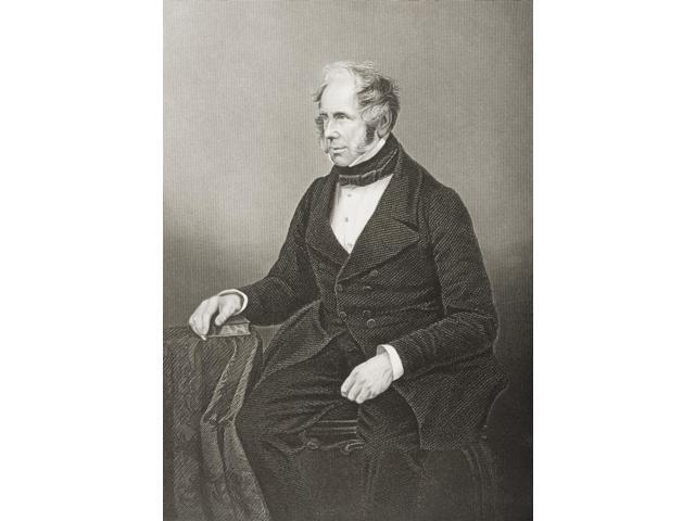 Henry John Temple 3RdViscount Palmerston 1784-1865 Prime Minister Of England 6 February1855-19February1858 12 June 1859-18 October 1865 Engraved By DJ Pound From A Photograph By Mayall From The Book T