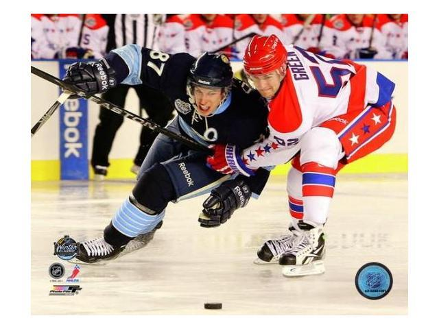 Mike Green 2011 NHL Winter Classic Action Photo Print (8 x 10)