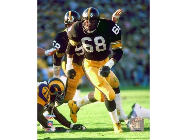 LC Greenwood Super Bowl XIV 1980 Action Photo Print (8 x 10)