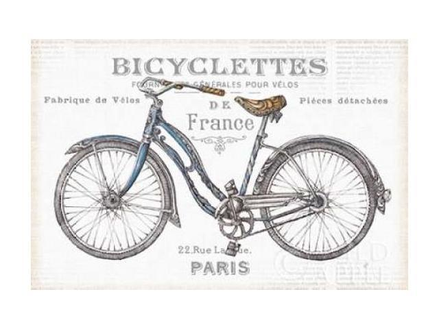 Bicycles II Poster Print by Daphne Brissonnet (24 x 36)