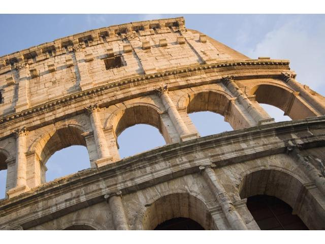 The Roman Coliseum In Rome Poster Print (19 x 12)