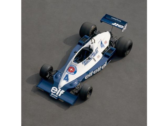 1978 Tyrrell-Cosworth 30 litre F1 single seat racing car Driven by Patrick Depailler Country of origin United Kingdom Poster Print (12 x 12)