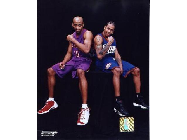 Vince Carter  Allen Iverson - # 2 Photo Print (8 x 10)