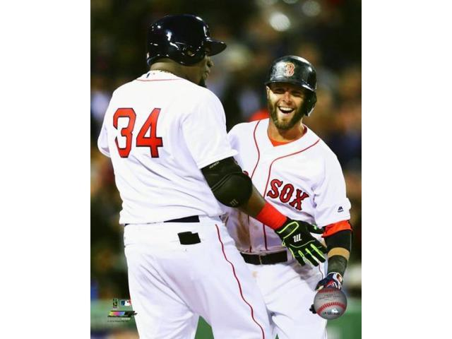 David Ortiz & Dustin Pedroia 2016 Photo Print (8 x 10)