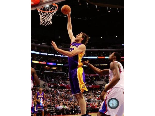 Pau Gasol 2010-11 Action Photo Print (8 x 10)