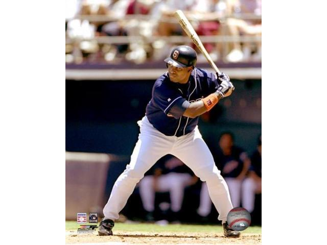 Tony Gwynn #19 of the San Diego Padres in action during a game against the Colorado Rockies at the Qualcomm Park July 5 1998 Photo Print (8 x 10)