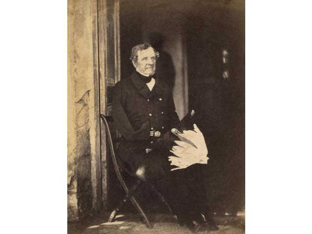 1St Baron Of Raglan N(1788-1855) Fitzroy James Henry Somerset English Field Marshal During The Crimean War Photograph By Roger Fenton 1855 Poster Print by  (18 x 24)