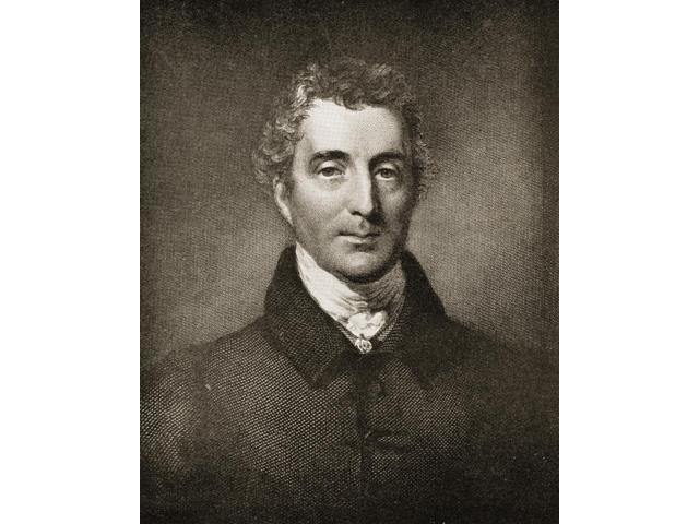 Arthur Wellesley Duke Of Wellington 1769  1852 From An Engraving After A Painting By G Hayter Poster Print (13 x 17)