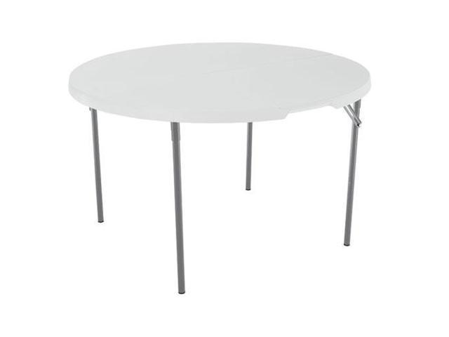 Lifetime 4-Foot Round Fold-in-Half Table