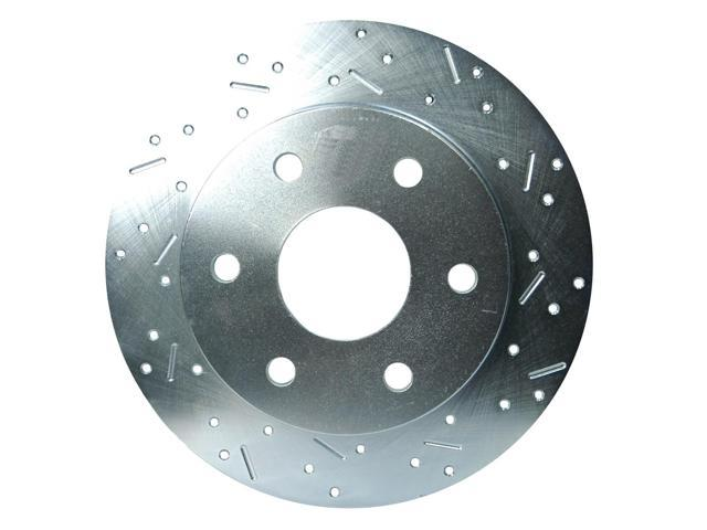 SSBC Performance Brakes Big Bite Cross Drilled Rotors