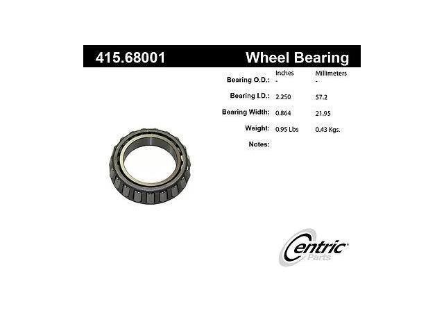 Centric 415.68001E Wheel Bearing