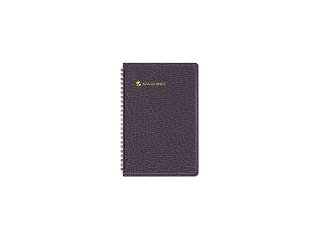 At-A-Glance 701000513 Weekly Appointment Book with Tabbed Telephone/Address Section, Weekly - 4.88