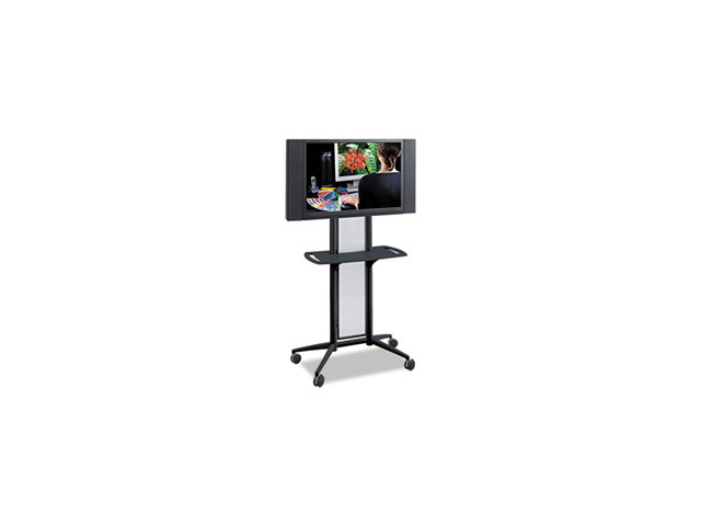 Impromptu Flat Panel TV Cart, 38w x 20d x 65-1/2h, Black