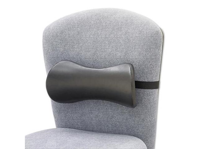 Lumbar Support Memory Foam Backrest, 14-1/2W X 3-3/4D X 6-3/4H, Black