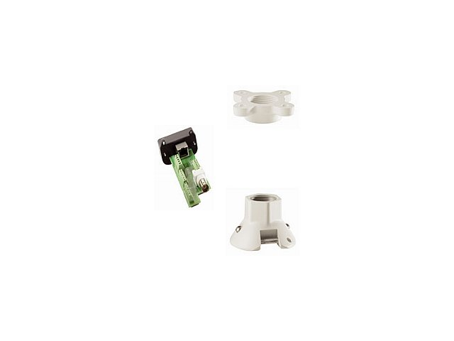 Bosch - VG4-A-9543 - Bosch Pole Mount for Surveillance Camera - 25 lb Load Capacity - Aluminum - White