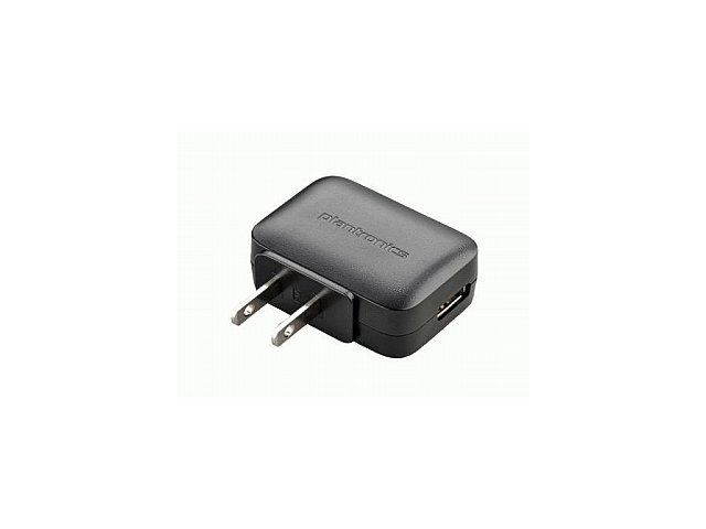 Plantronics 89034-01 Voyager Legend Modular AC Wall Charger - Non-Retail Packaging - Black