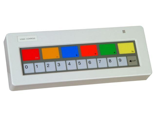 Bematech KB1700A-BK KB1700 REFER TO KB1700A-BK-RJRJ-WMBR,17 KEY PROGRAMMABLE KEYPAD (BUMP BAR) LEGEND SHEET A IBM COMPATIBLE ...