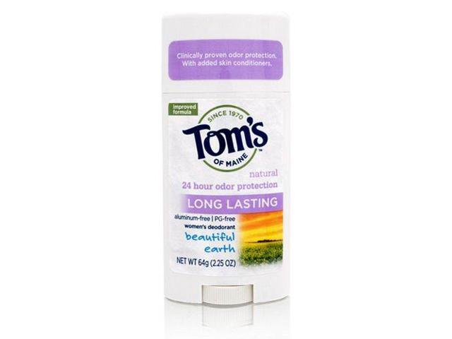 Tom's of Maine Natural Long-Lasting Deodorant Stick 64g/2.25oz (Beautiful Earth)