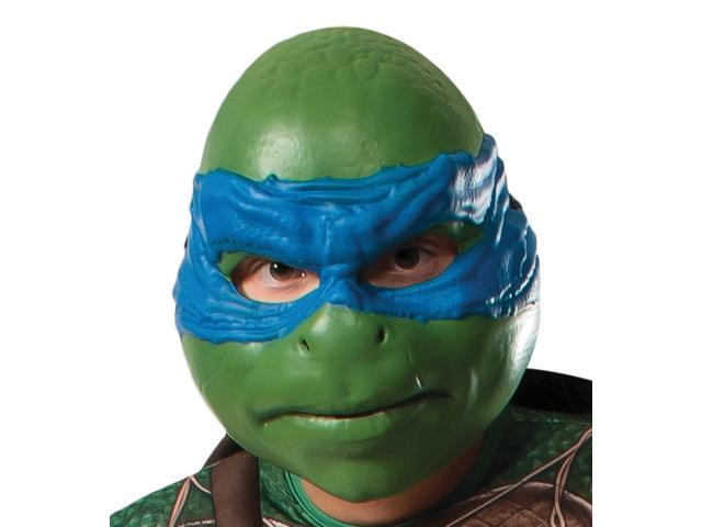 Teenage Mutant Ninja Turtle Leonardo 3 4 Adult Mask