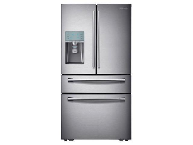 """Samsung  RF31FMESBSR:  36""""  Wide,  29  cu.  ft.  4-Door  Refrigerator  with  Automatic  Sparkling  Water  Dispenser"""