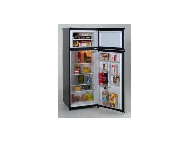 Avanti RA7316PST: Model RA7316PST   7.4 CF Two Door Apartment Size  Refrigerator   Black W