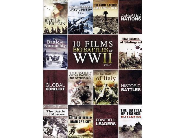 Big Battles of WWII, Vol. 1 [2 Discs]