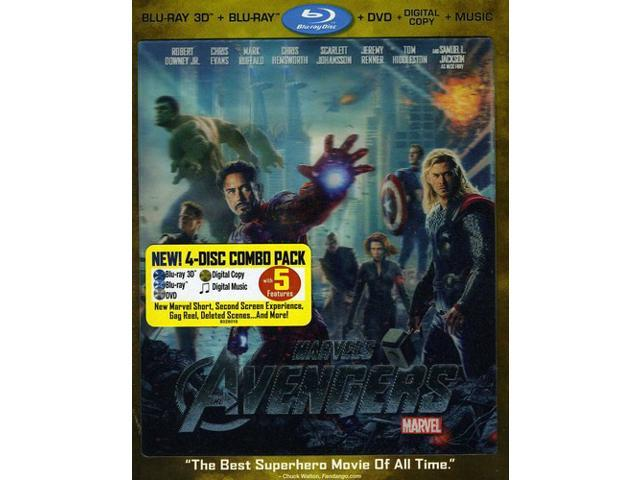 Marvel's The Avengers 4-Disc Blu-ray Combo Pack