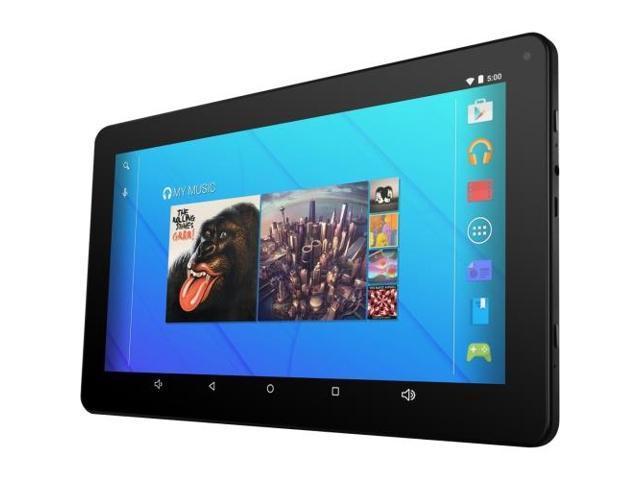 Ematic EGQ223SKBL Tablet 1.20 GHz Quad-core Processor 1 GB Memory 16 GB Flash memory 10