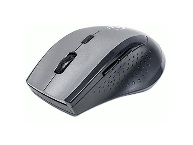 MANHATTAN 179379 Curve Wireless Optical Mouse (Gray/Black)