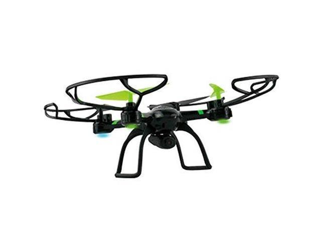 Xtreme Cables XDG61007BLK xRaptor 6 Axis Quad Copter wHD Camera Surveillance Camera, black/green