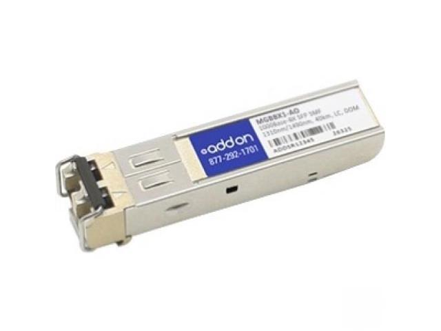 AddOn Linksys MGBBX1 Compatible SFP Transceiver - SFP (mini-GBIC) transceiv (it may take up to 15 days to be received)