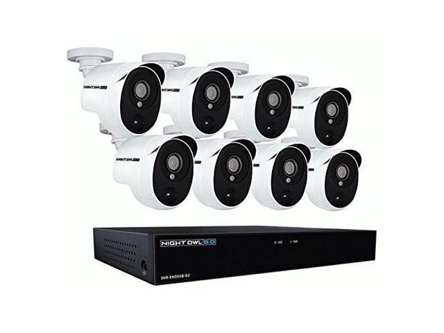 Night Owl XHD502-88P-B 8 Channel 5MP Extreme HD Video Security DVR ...