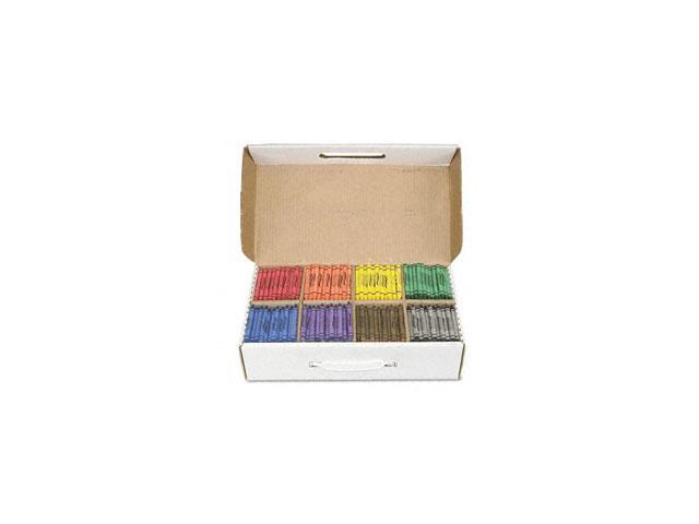 Prang 32350 - Crayons Made with Soy, 100 Each of 8 Colors, 800/Carton