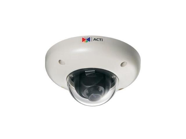 ACTi E56 RJ45 3MP Indoor Dome Camera with D/N, IR, Superior WDR, Fixed lens