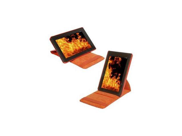 PC Treasures 08349-PG Props Pivot Carrying Case for Kindle Fire Tablet Tangerine
