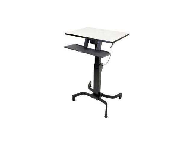 Ergotron WorkFit-PD, Sit-Stand Desk (Birch)