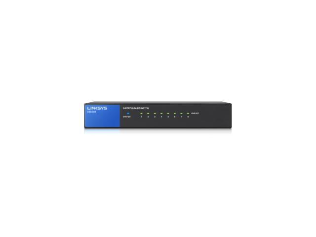 Linksys 8 Port Desktop Gigabit Switch