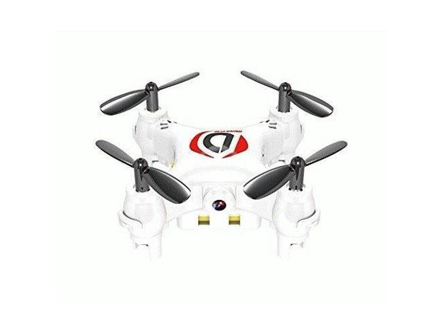 WORRYFREE GADGETS MINIDRONE-WHT MINI DRONE WITH MIRAGE CAMERA
