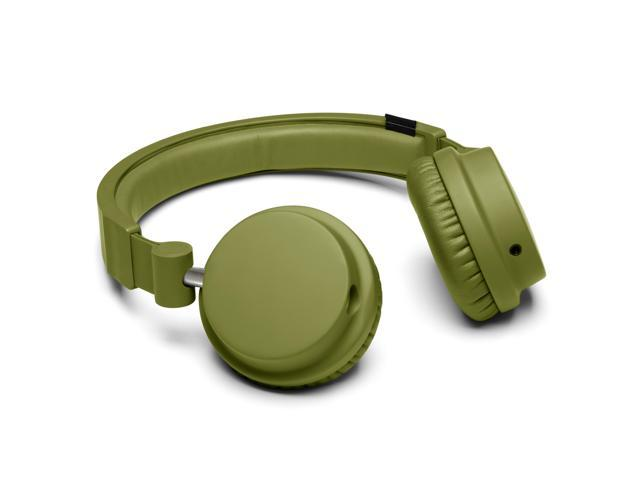 Urbanears Zinken DJ Foldable Collapsible Headphones Mic Remote Olive Green