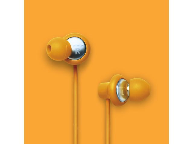 Urbanears Kransen Pumpkin Orange Earphones Earbuds Headphone Mic Remote 04090117
