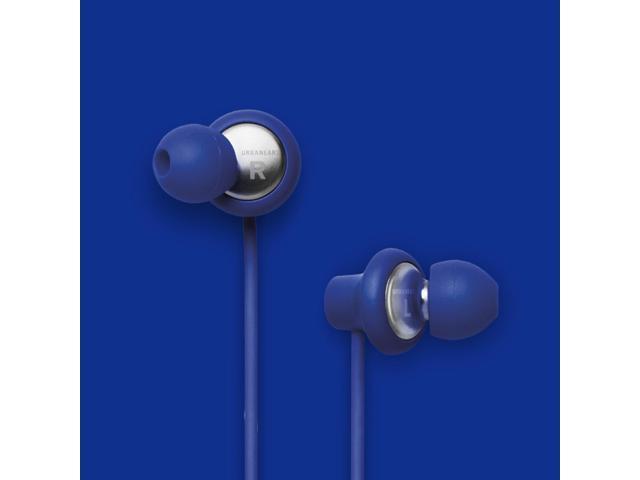Urbanears Kransen Cobalt Blue Earphones Earbuds Headphones Mic Remote 04090121