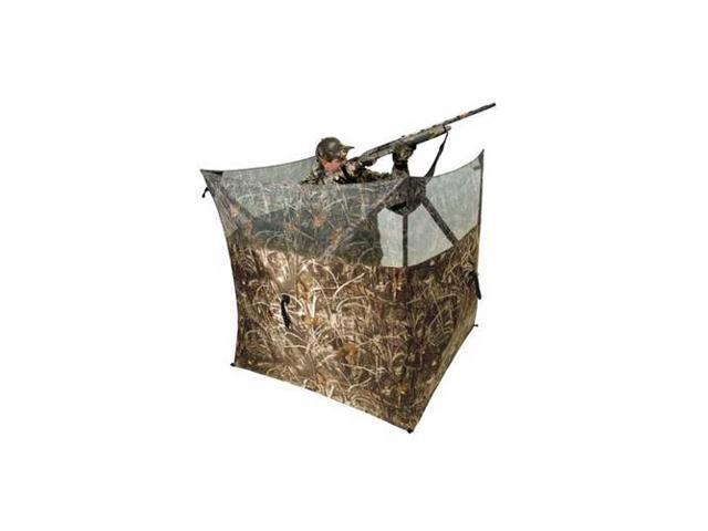 Ameristep AM-3327A ING-BLND-0079 Field Hunter Blind, Max-4