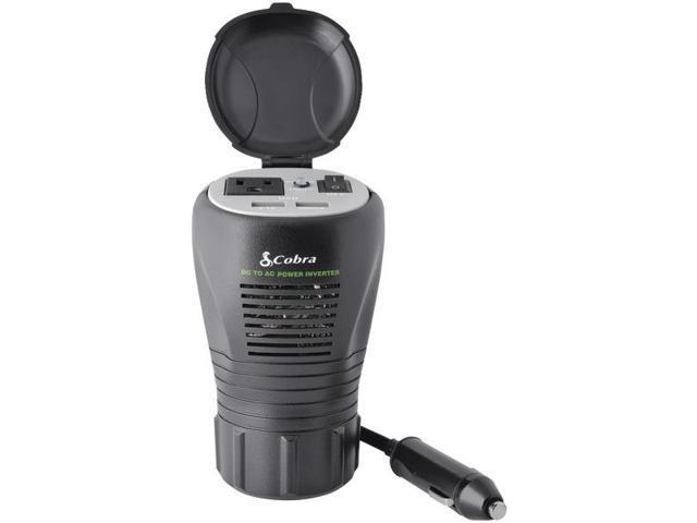 COBRA ELECTRONICS CPI290CH 200-Watt 2.1A USB 12-Volt DC to 120-Volt AC Power Inverter